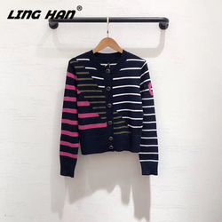 LINGHAN шерстяной кардиган, Модный высококачественный вязаный кашемировый свитер, мягкий теплый женский свитер, осенне-зимний новый