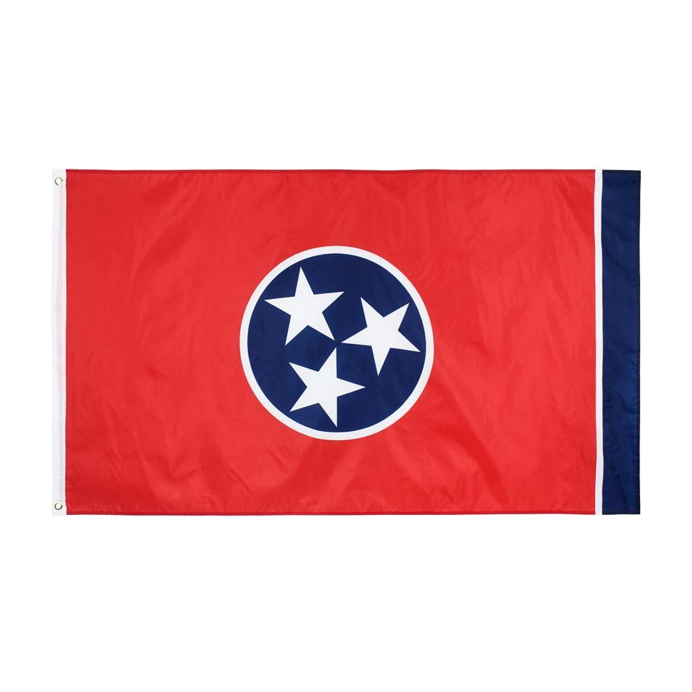 90*150cm tennessee estado bandeira