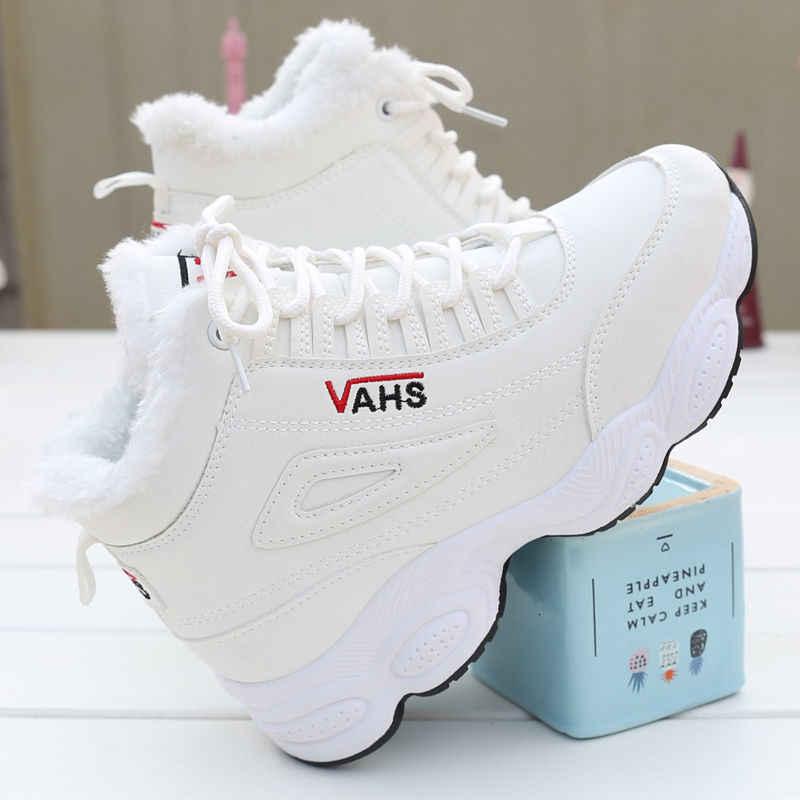 Rahat ayakkabılar kadın kış marka vulkanize ayakkabı kadınlar için sıcak tutmak rahat açık Sneaker Zapatillas Mujer eğlence ayakkabı