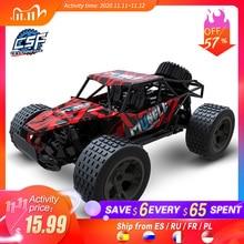 RC voitures radiocommande 2.4G 4CH rock voiture Buggy tout terrain camions jouets pour enfants haute vitesse escalade Mini rc dérive voiture de conduite