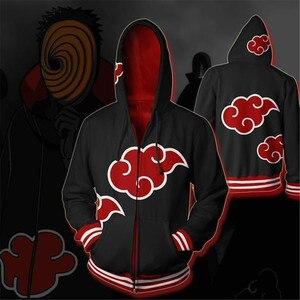 Image 5 - Naruto Uchiha Itachi Sharingan Hoodie Cosplay Naruto Anime kostümleri kostümleri tişörtü erkekler kadınlar Hoodie