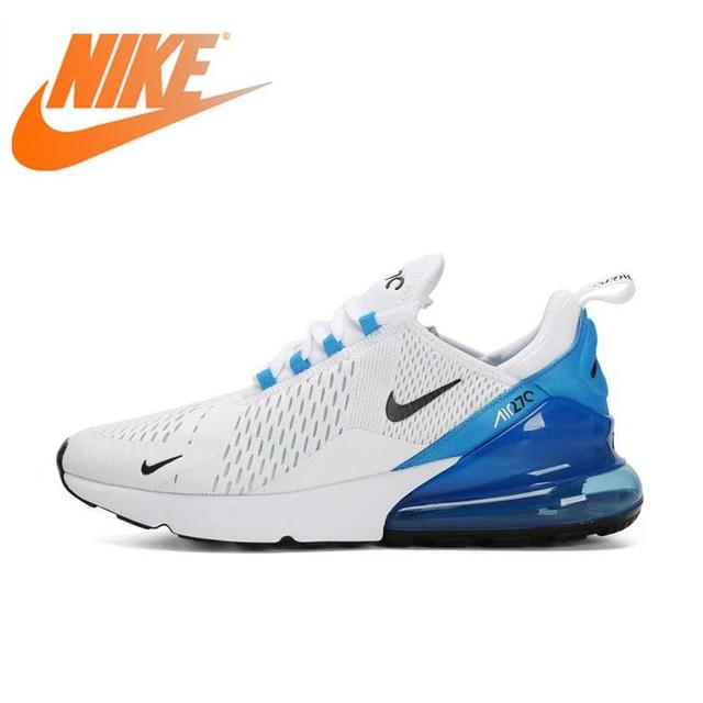 Original Authentic NIKE Air Max 270 Men's Running Shoes Outdoor Sports Breathable Athletic Designer Footwear Top Quality AH8050