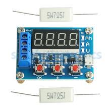HW 586 1.2v 12v 18650 ליתיום ליתיום סוללה קיבולת בודק התנגדות עופרת חומצת קיבולת מטר Tester