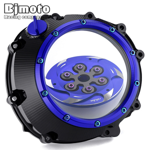 Image 3 - CNC S1000 S 1000 R XR Racing Clear Clutch Cover & Spring Retainer R For BMW S1000R S1000RR S1000XR 2015 2019 HP4 HP 4 2012 2018