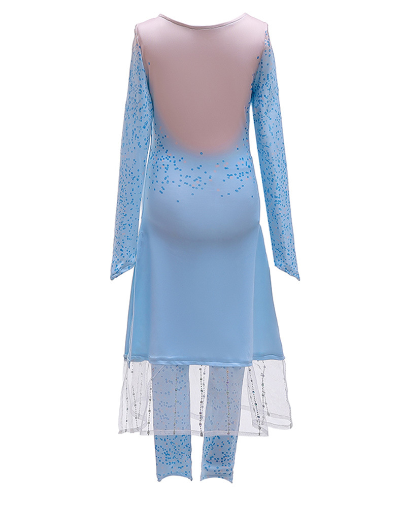 Hf40595b1606b45dcbf82bff1757dccb7N Unicorn Dresses For Elsa Costume Carnival Christmas Kids Dresses For Girls Birthday Princess Dress Children Party Dress fantasia