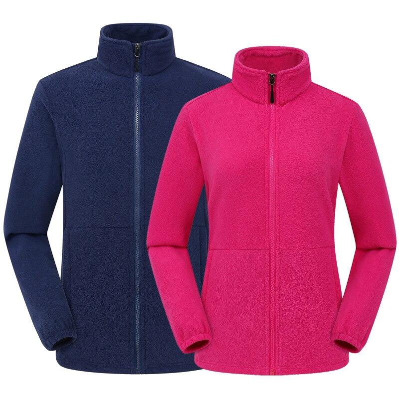 Men Women Solid Winter Polar Heated Fleece Jacket Outdoor Sport Camping Mountain Climbing Trekking Ski Hiking Jackets