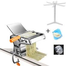 Нержавеющая Сталь Обычные 2 лезвия паста делая машину руководство лапши чайник ручной работы спагетти паста резак лапши вешалка