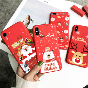 Christmas Case For Samsung Galaxy M31 A21S A21 A31 A41 A71 A51 A11 A01 A50 A70 A30 A40 A10 A10e A20e A6 Plus 2018 M30 S M11 Bag