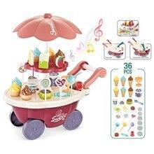 Kids Toys House Game Car-Ice-Cream Candy Cart Children's Gift Brain
