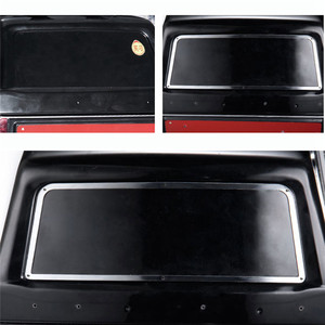 Image 5 - Metal Side Window Frame+Rear Window Frame+Front Window Frame For 1:10 TRAXXAS TRX 4 TRX4 Ford Bronco RC Car Parts