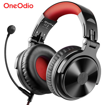 Oneodio Wired Wireless Bluetooth Headphone With Mic Volume Control Stereo Bluetooth Gaming Headset For Phone Computer PC Gamer 1