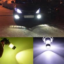 2pcs Waterproof fog light H1 H3 H4 H7 H8 H9 H11 H16 9005 9006 H10 12V 100W 1000lm  LED  Car Fog Lamp Bulbs auto Accessories лампа philips ultinon led fog h11 h8 h16 12v pgj19 6200k 11366ulwx2 2 штуки