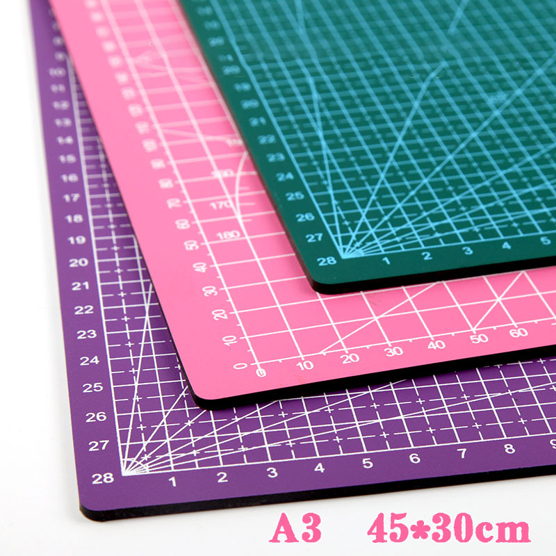 A3 Cutting Pad Manual Model Pvc Cutting Board Paper Cutting Pad Rubber Stamping Knife Plate Carving Board Heat Shrinkable Pad