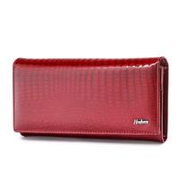 Frauen Brieftaschen und Geldbörsen Luxus Marke Alligator Lange Echtem Leder Damen Kupplung Weibliche Krokodil Kuh Brieftasche Damen Geldbörse-in Geldbeutel aus Gepäck & Taschen bei
