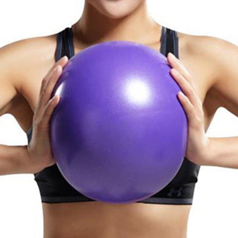 25cm Yoga Ball Exercise Gymnastic Fitness Training Pilates Ball For Balance Exercise Fitness Yoga Pilates Stability Exercise Gym