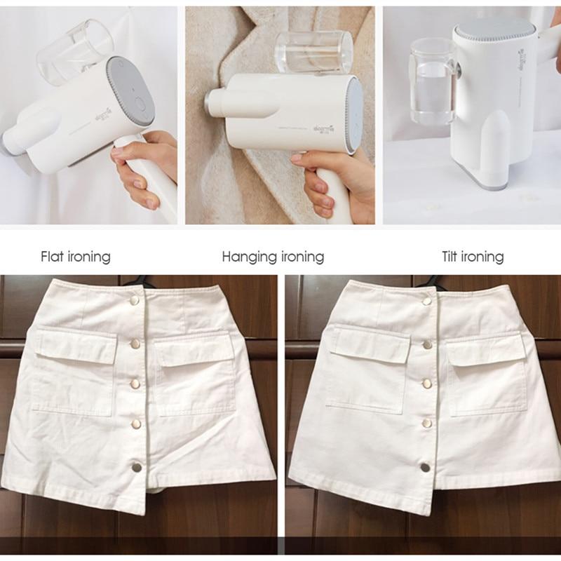 xiaomi dem-hs006 foldable handheld garment steamer steam iron for wrinkle sterilization