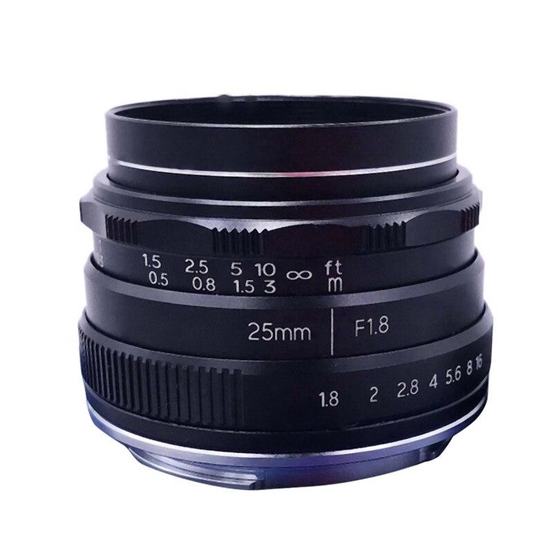 NEWYI 25mm F/1.8 Manual Focus MF Prime Lens for Nikon Z Mount Camera