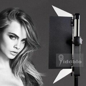 Image 3 - Светодиодное освещение 120 Вт для студийной видеосъемки интервью фотосъемки теплый и холодный цвет фотостудия Светодиодная лампа