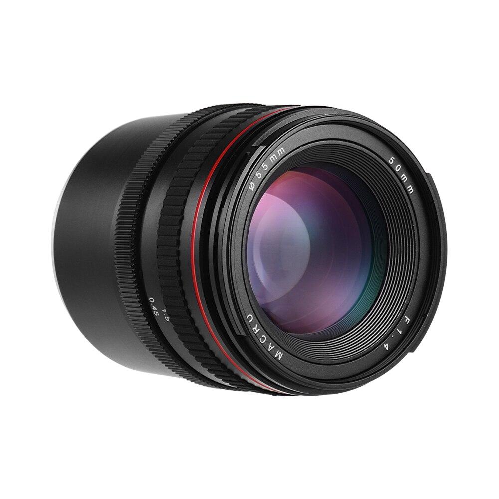 Cheap Price 50mm F/1.4 Large Aperture Portrait Manual Focus Camera Lens Low Dispersion For Sony E Mount A5100 A5000 A3500 Ildc Cameras