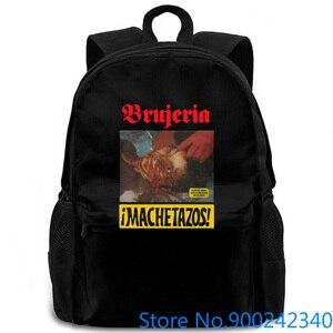 Рюкзак Brujeria Machetazos с металлическим шлифованным сердечником для мужчин и женщин