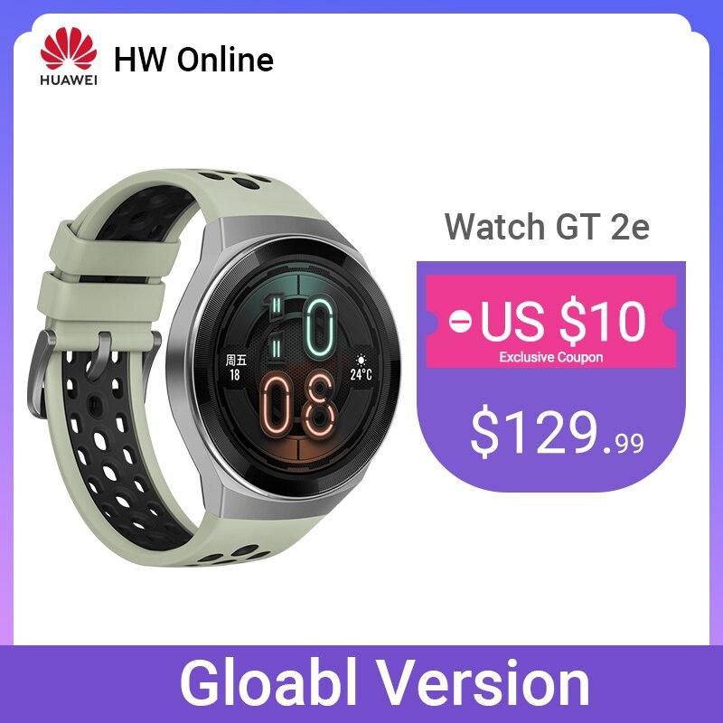 Смарт часы Huawei GT 2E, Bluetooth 5,1, умные часы, 14 дней, телефонные звонки, пульс для Android iOS|Смарт-часы|   | АлиЭкспресс