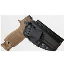 Escondido levar kydex iwb coldre para sig sauer m18 p320c x estojo compacto levar dentro da cintura ocultação 1.5