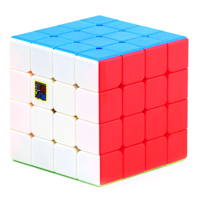 Moyu Meilong 4x4 Speed Cube Magic Puzzle Strickerless 4x4x4 Neo Cubo Magico 59mm Mini Size Frosted Surface Toys for Children 1