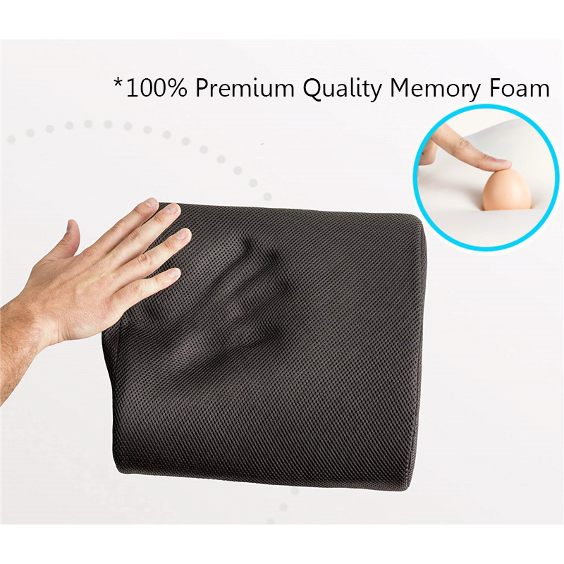 3D Memory Foam Car And Office Lumbar Pillow To Relieve Low Waist Pain 2