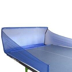 Tischtennis bälle fangen net Original graphit macth mit trainer maschine ping pong ball roboter sammeln net