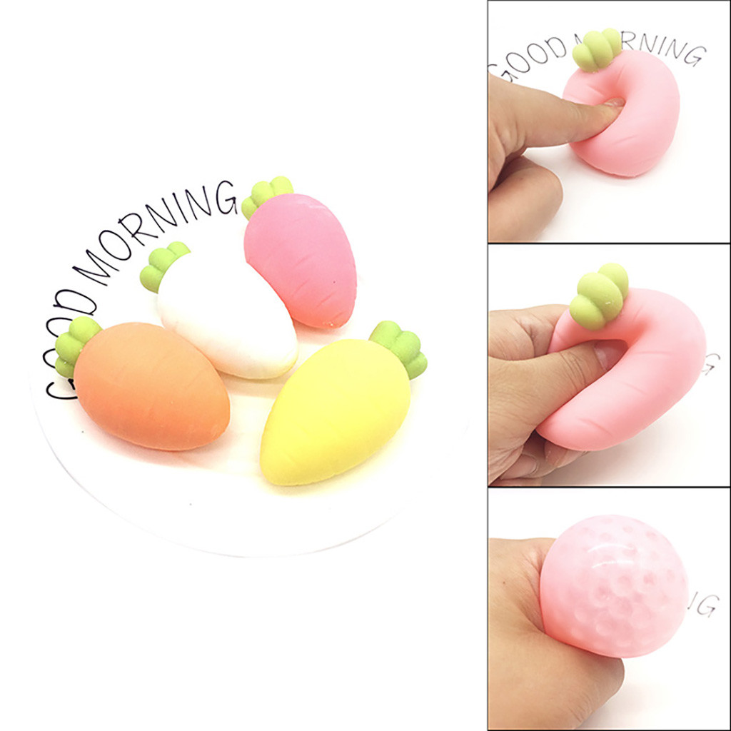 Squishy Kawaii Gigantes Soft Squeeze Toys Squishy Creative Venting And Unpacking Funny Radish Kneading Decompression ToyW801