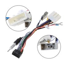 Adattatore per cablaggio unità connettore di alimentazione per autoradio Stereo a 16pin 2049