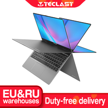 Teclast F5 11.6 pollici Touch Screen Laptop 8GB DDR4 256GB SSD Notebook Windows 10 Intel N4100 1920x1080 IPS 360 ° Computer tipo c