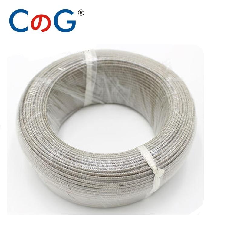 10M 20M 50m 100m K J PT100 Type 0-800 Degree 600℃ Shielded Thermocouple Wire 2*0.45MM Temp Measurement Line Compensation Wire
