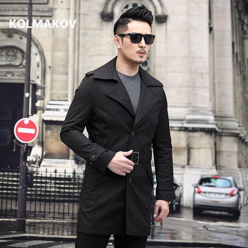2020 new arrival high quality trench coat men,fashion men's jackets,business dress wool coat men size M-XXXXL