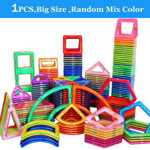 Toys Magnet-Blocks Building Construct Children Parts-Accessories Single-Bricks Big-Size