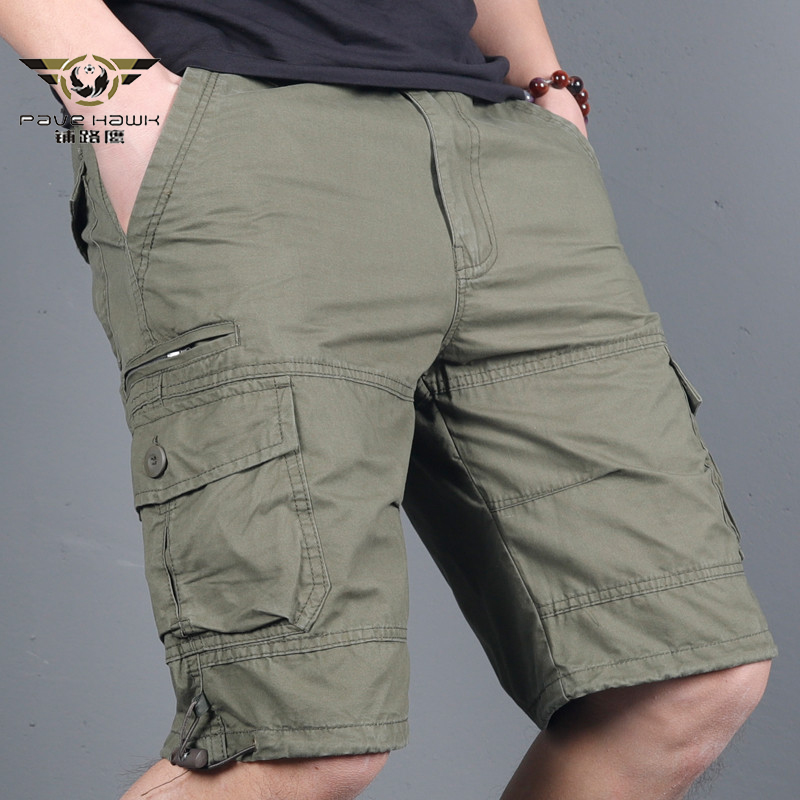 Men's Military Cargo Shorts 2020 Army Camouflage Tactical Joggers Shorts Men Cotton Loose Work Casual Short Pants Plus Size 4XL