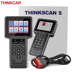 Image 1 - THINKCAR ThinkScan OBD2 Automotive Diagnostic Scanner Engine Analyzer Full System Oil DPF EPB SAS Reset Read Code  Free Shipping