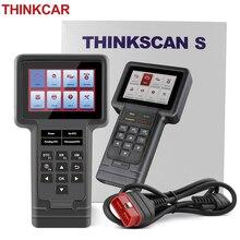 Thinkcar Thinkscan OBD2 Automotive Diagnostic Scanner Engine Analyzer Volledige Systeem Olie Dpf Epb Sas Reset Lezen Code Gratis Verzending