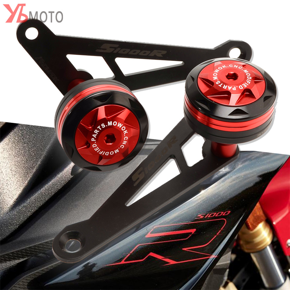 NEW 2Style Motorcycle CNC Crash Pads Frame Slider Protector Fit For <font><b>BMW</b></font> <font><b>S1000R</b></font> S1000 R 2017 <font><b>2018</b></font> 2019 image