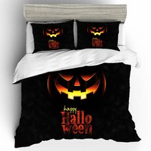 Home Textiles Bed Linen Set Halloween Luxury Kid Quality 3D Couple King Size Bedding Duvets And Sets Cotton