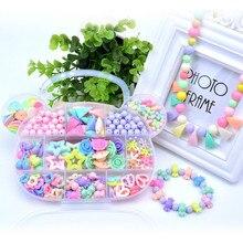 Тренировка для глаз, пластиковые акриловые бусины, набор аксессуаров, сделай сам, игрушки для изготовления ювелирных изделий, Детские креативные подарки на день рождения для девочки