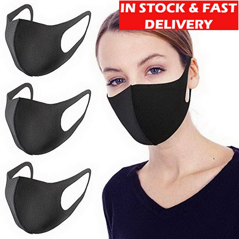 50Pcs KN95 AntiviralOutdoor Pollution Protective Face Mask  Men Women Children Durable Breathable Lightweight Shield Mouth Cover