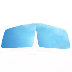 Drzwi boczne lusterko wsteczne led dynamiczne światło kierunkowskaz niebieski szeroki kąt mgła ciepła dla mercedes benz SLK SL SL400 SL550 w Lusterko i pokrowce od Samochody i motocykle na