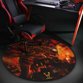 Woxter Stinger Floorpad Red - Tapete protector de suelo Gaming, Accesorios Gaming...