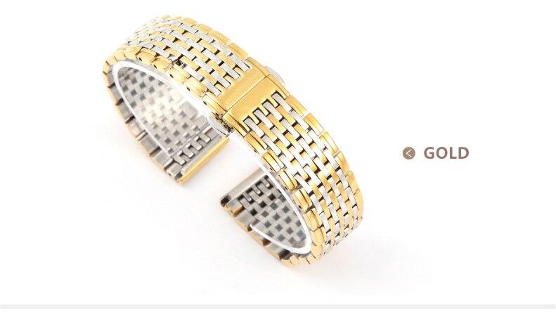 Ultra-ince çelik şerit Yüksek kalite Erkekler / Kadınlar - Saat Aksesuarları - Fotoğraf 3