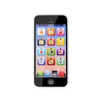 Angielski muzyka symulacja nauka lekka zabawka telefon komórkowy maszyna z historiami zabawki do wczesnej edukacji dzieci telefon komórkowy z kablem USB tanie i dobre opinie MR RC CN (pochodzenie) Z tworzywa sztucznego Zabawki telefony 2-4 lat 5-7 lat Unisex English Music Simulation Learning Light Toy