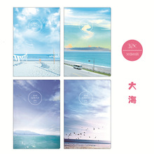 1piece Kawaii Graffiti Notebook Cute Stationery Office School Supplies Random Color 20sheets/40pages