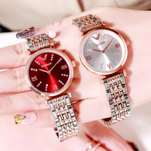 Stainless Steel Band Fashion Ladies Watch For Women