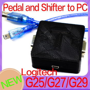 For logitech G25 G27 G29 G923 SHIFTER AND SPEDALS USB TO PC Adapter SIMRACING