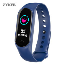 ZYKER New Bluetooth Smart Watch Blood Pressure Heart Rate Monitor Band Fitness Tracker Pedometer Smartwatch Bracelet